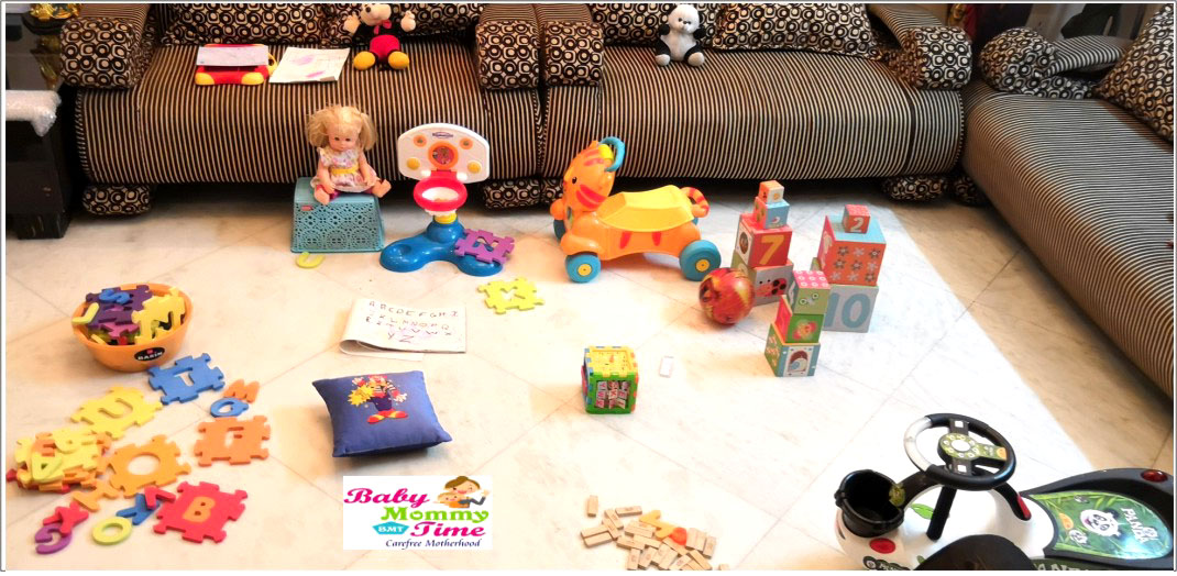 Kids Playing Area in Home
