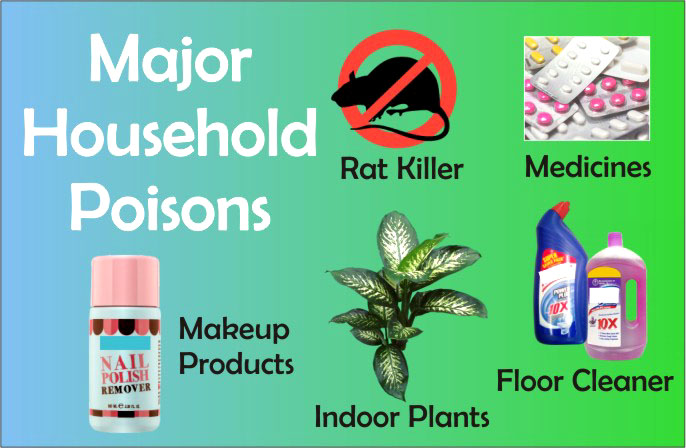 How to Protect Kids from Some Major Household Poisons