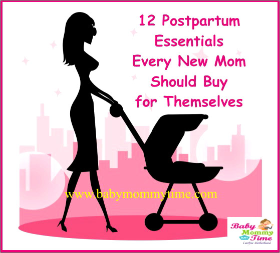 12 Postpartum Essentials Every New Mom Should Buy for Themselves