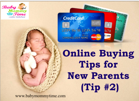 Online Buying Tips for New Parents (Tip #2/5)