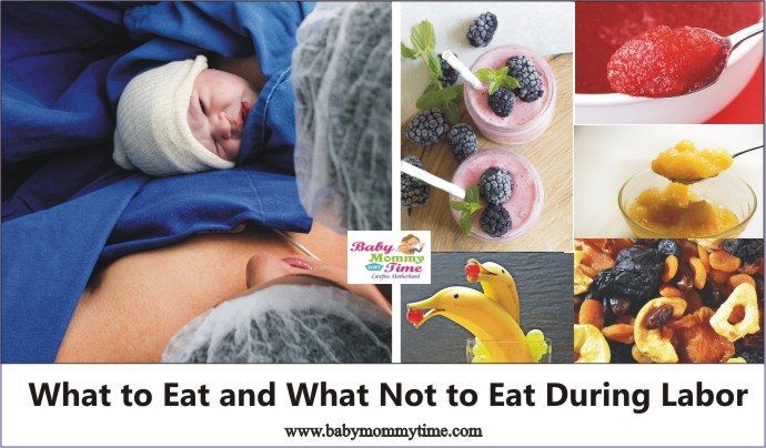 What to Eat and What Not to Eat During Labor