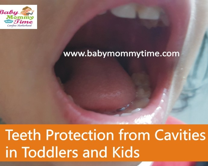 Teeth Protection from Cavities in Toddlers and Kids