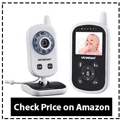 Video Baby Monitor with Camera, Upgrade 2019 UU Infant Reviews