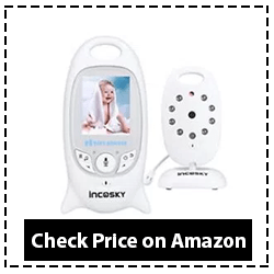 Video Baby Monitor, incoSKY Wireless Digital Camera Reviews 2020