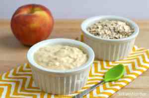 baby first foods - oatmeal