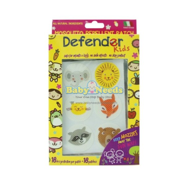 Defender Kids Anti Mosquito Patch 18 Pcs Baby Needs Online
