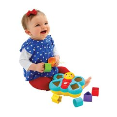 Cream Puff Chair Seating Office Chairs Fisher Price : Butterfly Shape Sorter | Baby Needs Online Store Malaysia