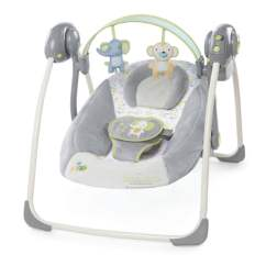 Cream Puff Chair Folding Commode Bright Starts : Ingenuity Soothe 'n Delight Portable Swing ( Buzzy Bloom ) | Baby Needs Online ...