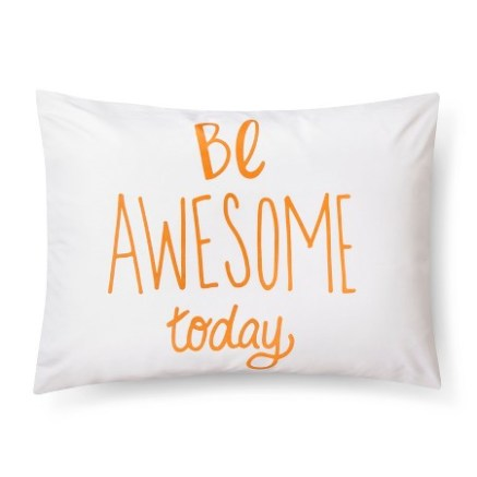 be-awesome-pillow