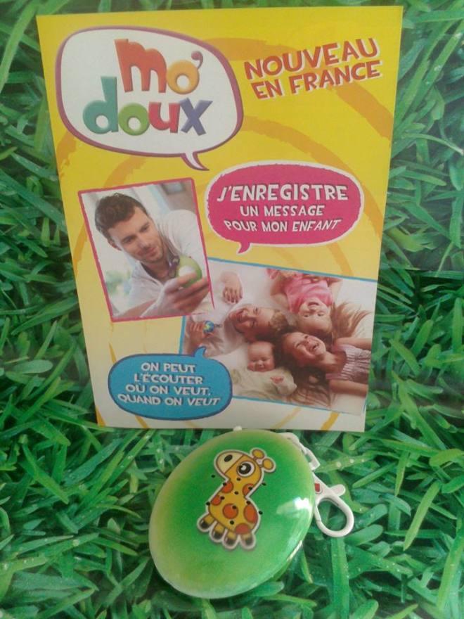 mo doux cadeau kid test baby no soucy