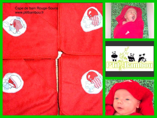 test cape de bain ptit bambou par baby no soucy