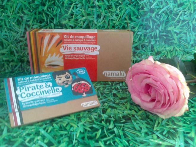 kit de maquillage bio naturel et ludique namaki test blog baby no soucy