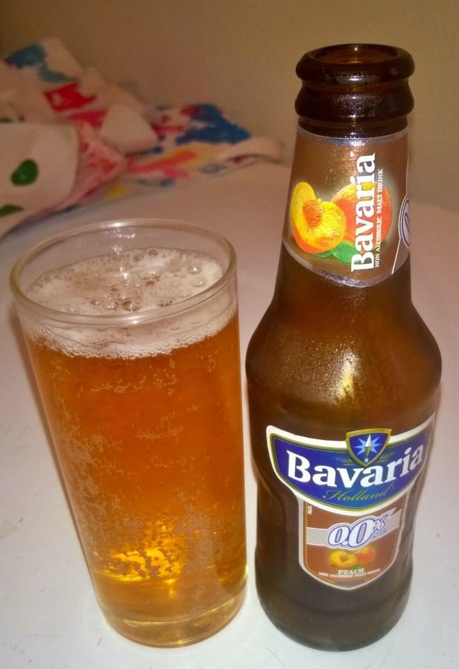biere sans alcool peche bavaria test baby no soucy
