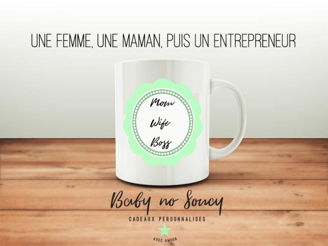 une femme une maman puis un entrepreneur