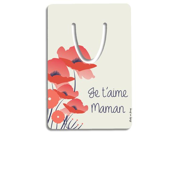 marque-page-aluminium-personnalise-maman-coquelicot