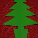 Easy to make Christmas Tree Bunting