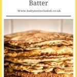 Simple Pancake Batter Recipe