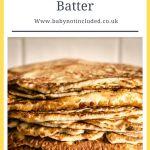 Simple Pancake Batter Recipe