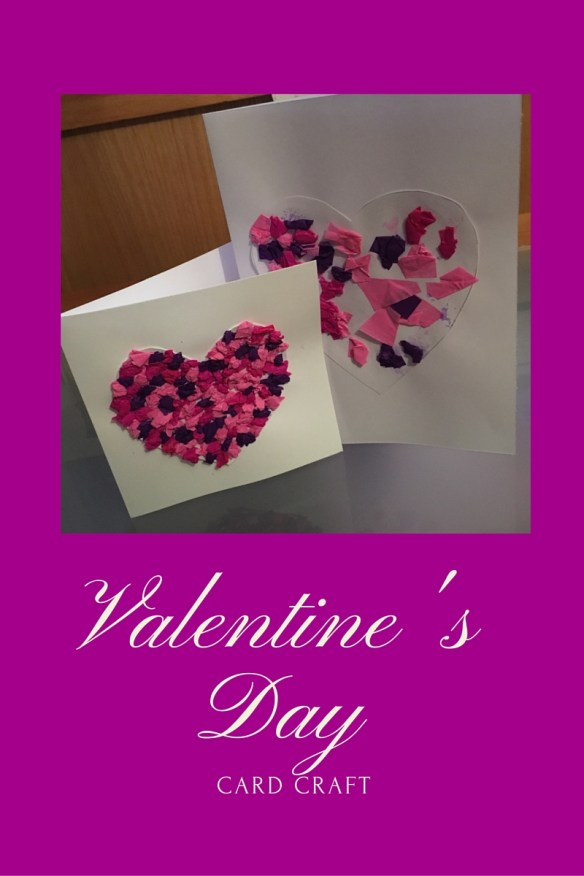 Valentines Day Card Craft