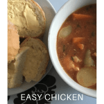 Slow Cooker – Easy Chicken stew