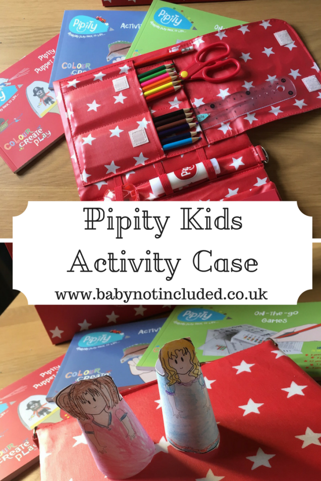 Pipity Kids Activity Case
