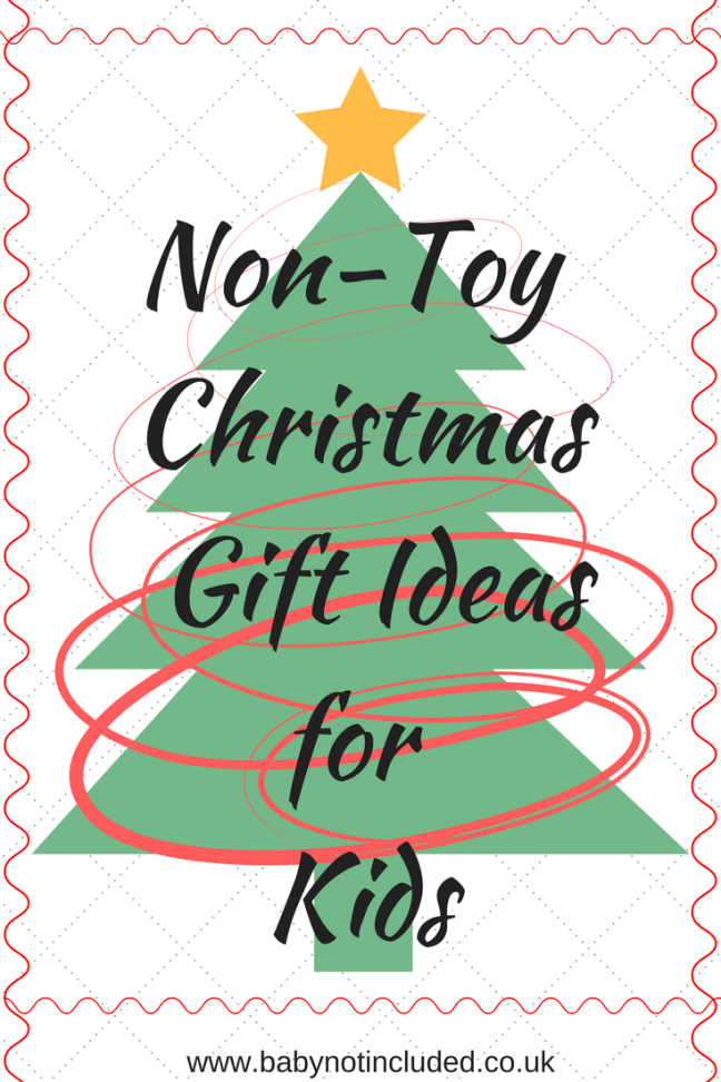 Non-Toy Christmas Gifts for Kids