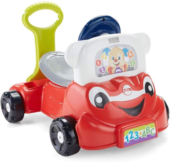 Christmas Gift Guide for Babies. Fisher Price Laugh and Learn 3 - 1 Smart Car