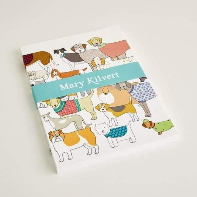 Mary Kilvert Dog Lovers Notebook