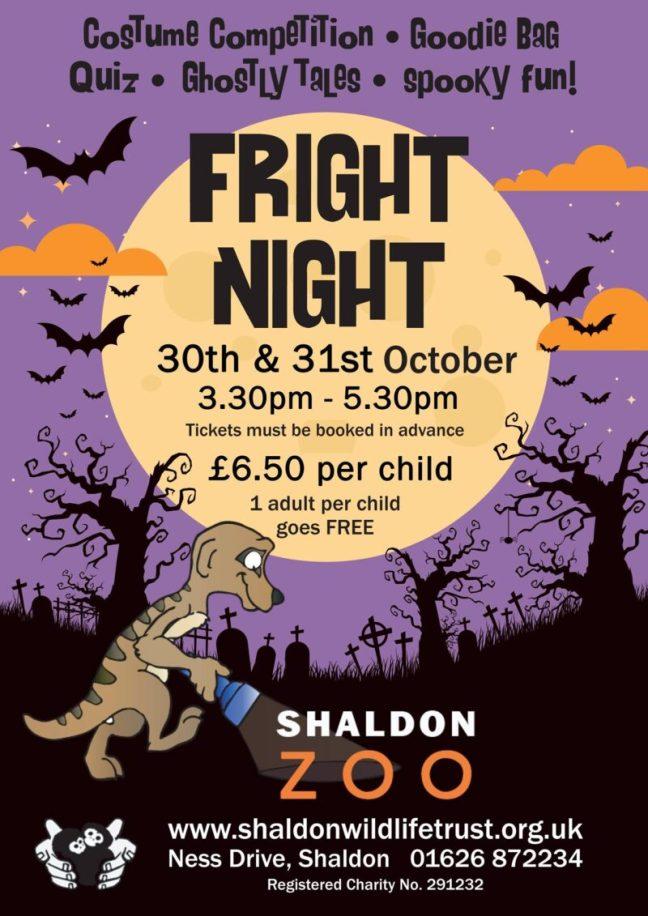 Shaldon Zoo Halloween Fright Night