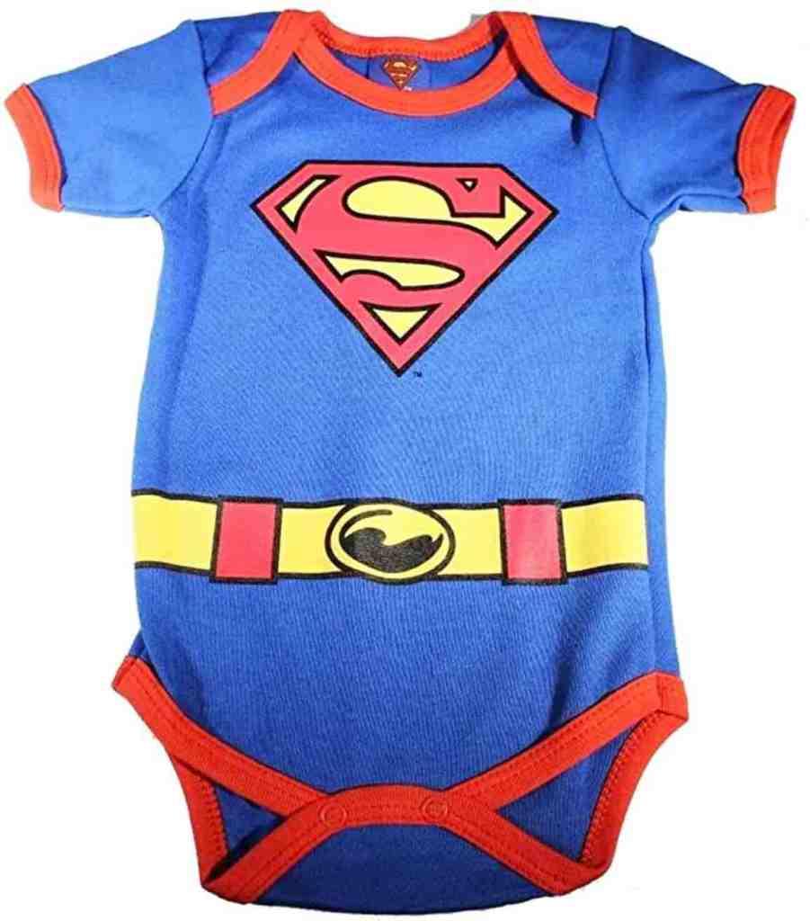 Pañalero superman bebe