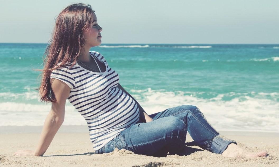 cómo sobrevivir y disfrutar de un embarazo de verano