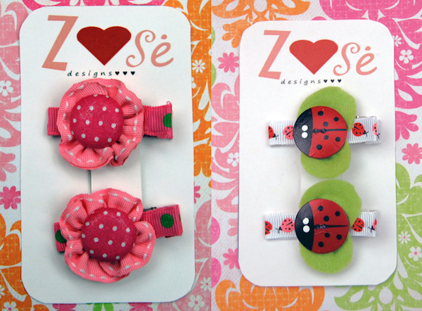 ZoseDesigns 1 Hair clips with a touch of nostalgia by ZoseDesigns