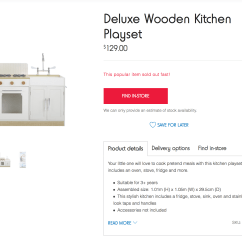 Kmart Kitchen Copper Decor These Clever Parents Are Hacking The Kids Wooden Kitchens
