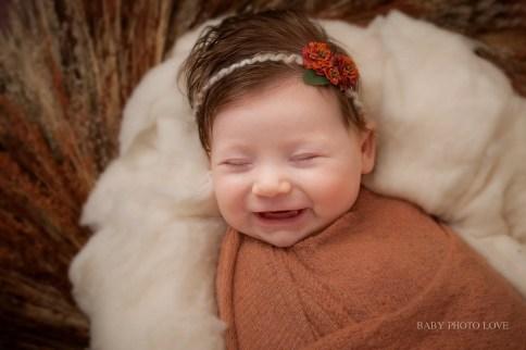 Newborn Girl | 10 Weeks new | Cleveland Heights Photographer