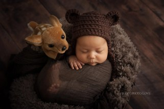 Newborn | 7 weeks new | Woodland Theme