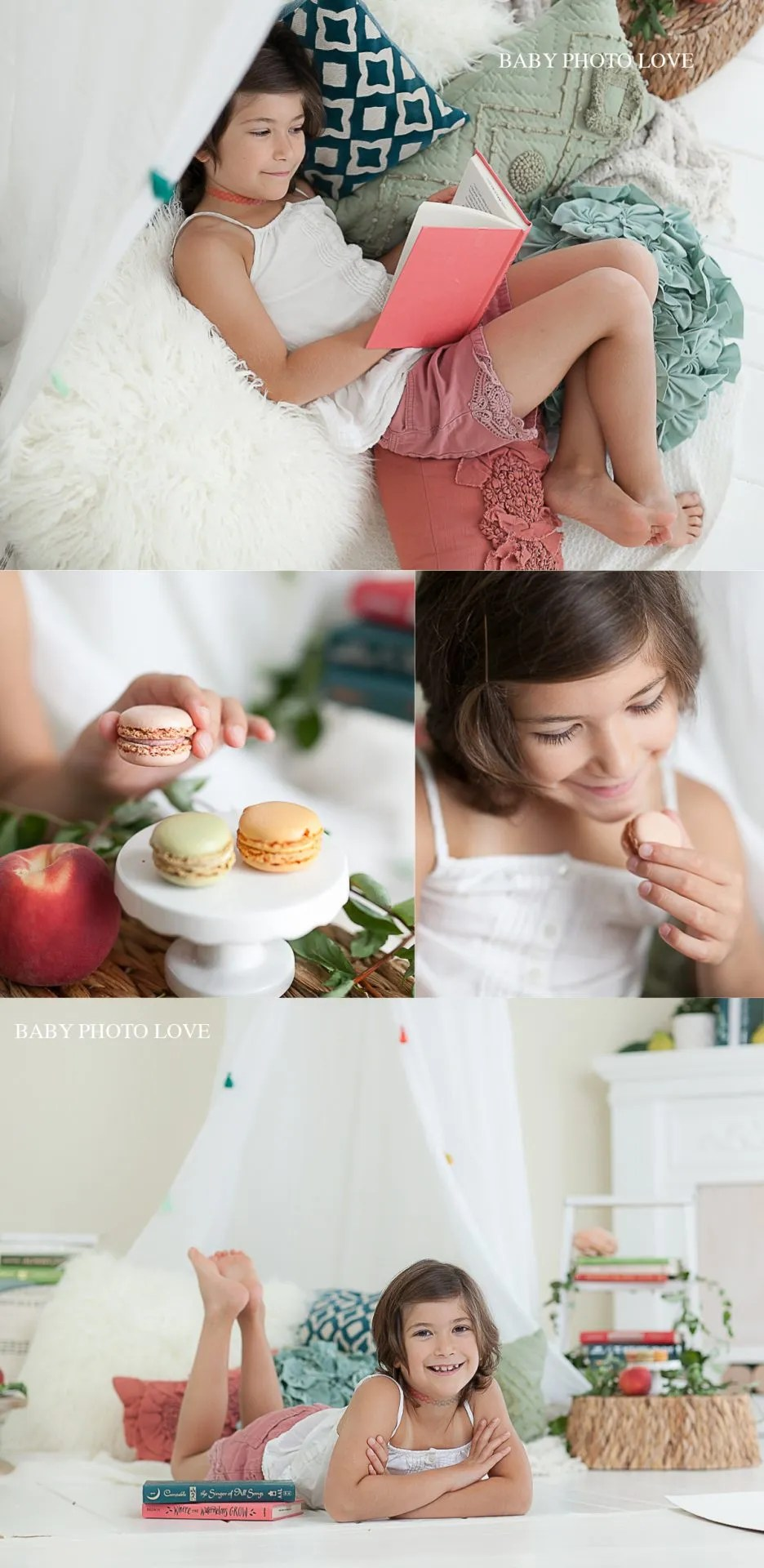 Styled Storybook Session | Hudson, OH | Children Photography