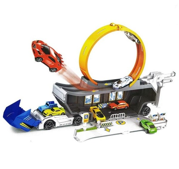 Stunt Track Truck