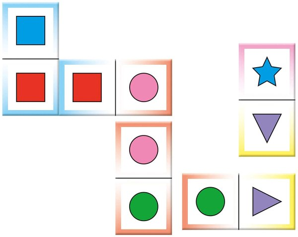 Shapes Colors Domino