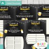 printable beer bbq baby shower fun games ideas