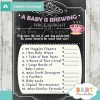 baby girl tea party Price is Right Baby Shower Games printable pdf
