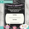 baby girl tea party printable Baby Shower Game Guess the Mommy's Tummy Size