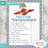 little pilot airplane Price is Right Baby Shower Games printable pdf