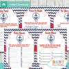 printable nautical anchor baby shower fun games ideas
