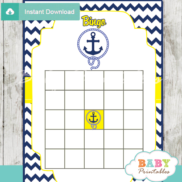 Printable Nautical Invitations