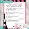 french bicycle paris Price is Right Baby Shower Games printable pdf