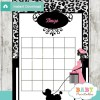 poodle paris printable baby shower bingo game cards