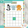 baby shower safari games bingo