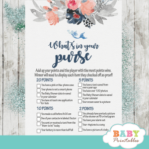 ahoy nautical baby shower games chic elegant flowers boy gray coral navy blue mermaid sea