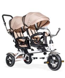 Tricikl za blizance twins