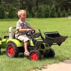 Traktor-na-pedale-2040am sa prikolicom i kasikom licencirani Claas Arion
